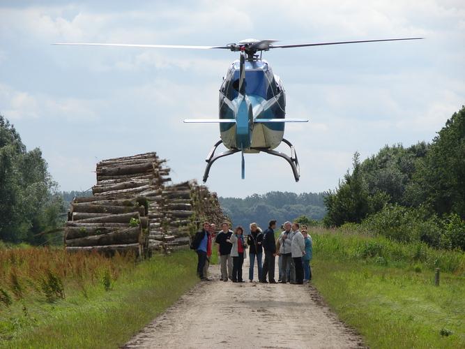 Helikopter droppings