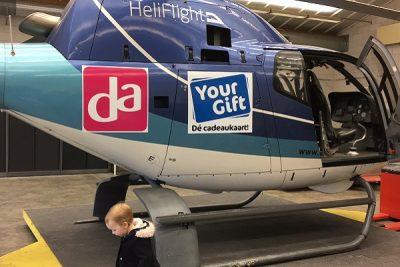 Helikopter bestickeren