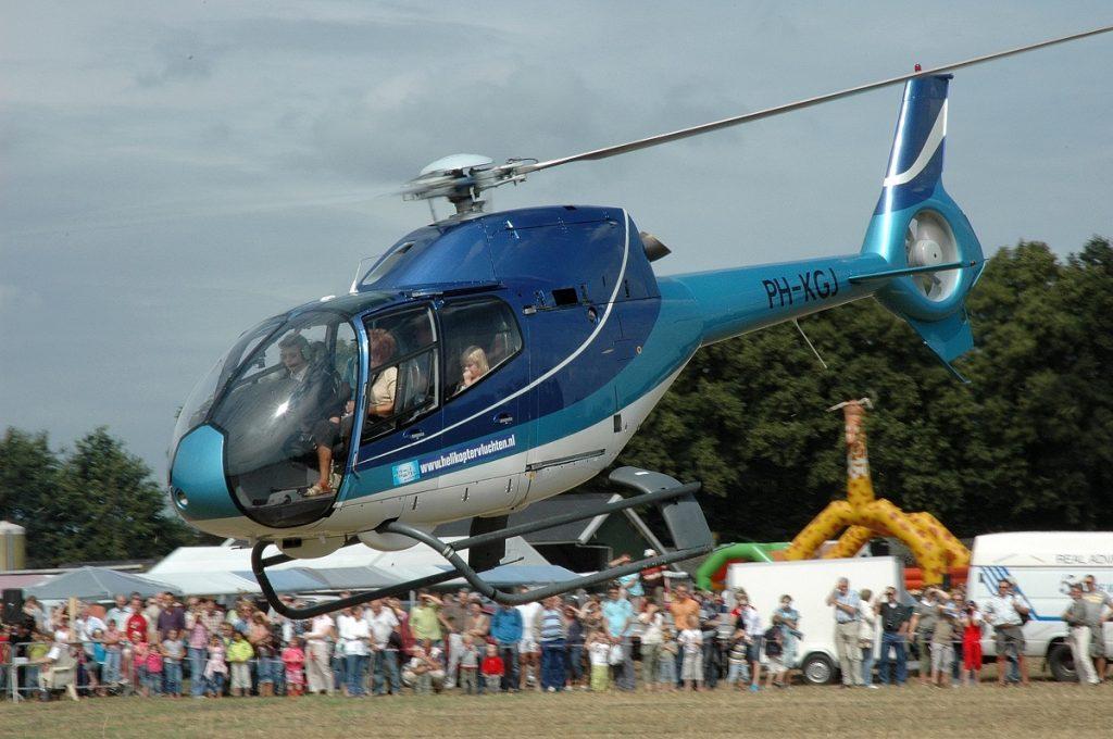 Helikoptervervoer-sportevenementen-VIPs