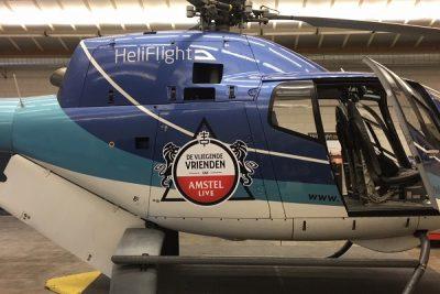 Helikopter reclamevlucht