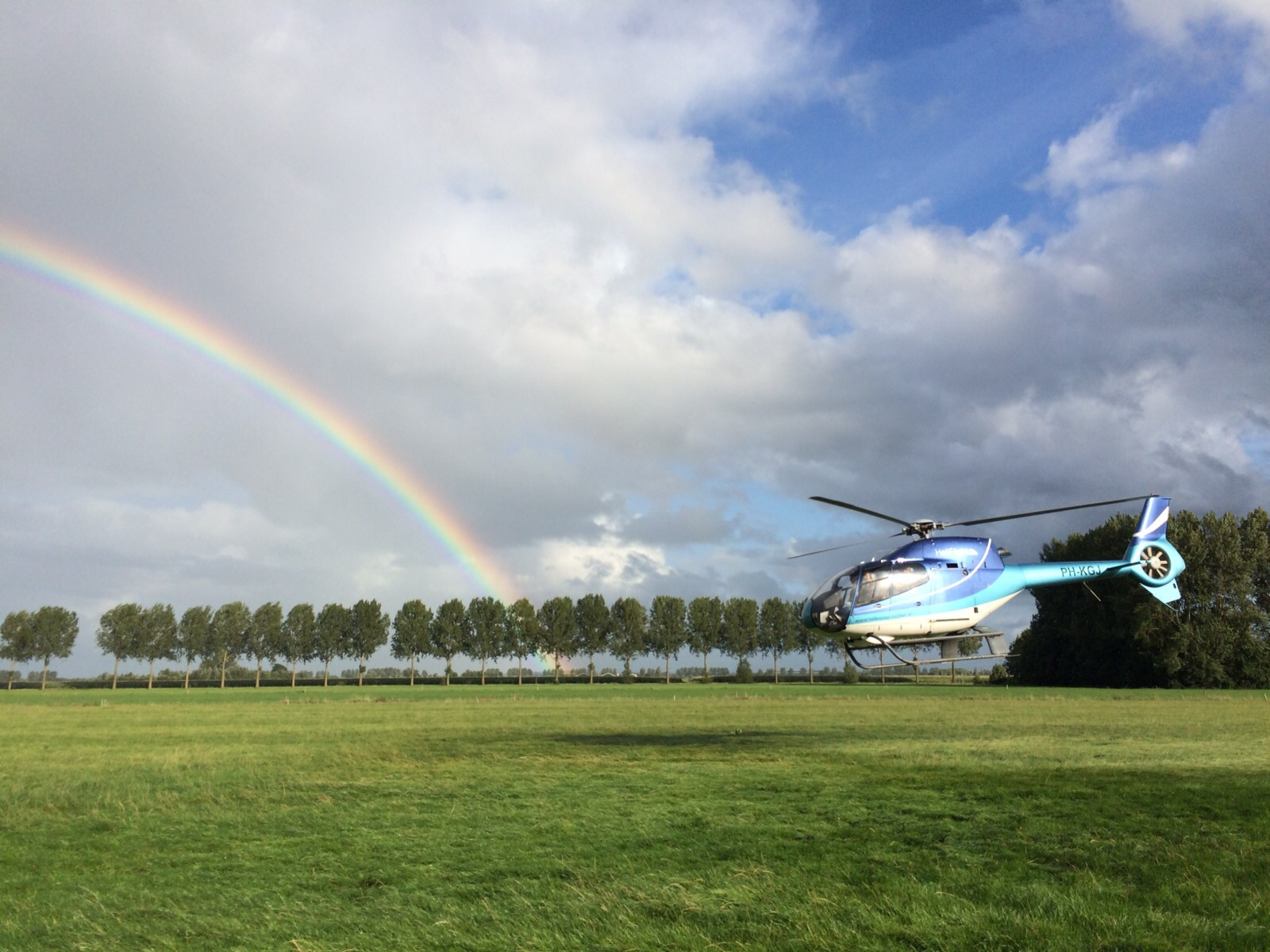 Helikoptervluchten Nederland