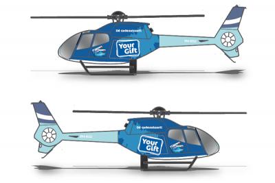 Ontwerp helikopter wrappen