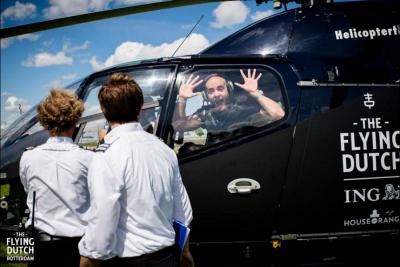 Helikopter-tijdens-een-festival
