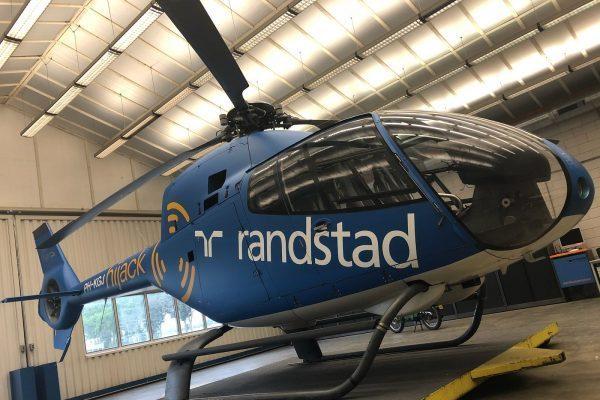 Helikopter wrappen