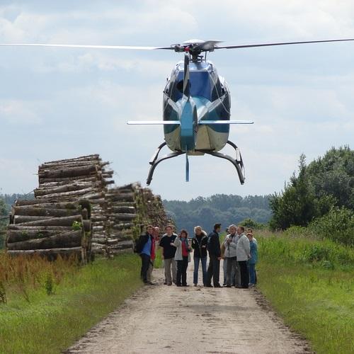Rondvlucht op locatie helikoptervluchten