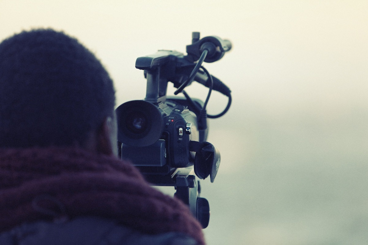 Cameraman helikopter