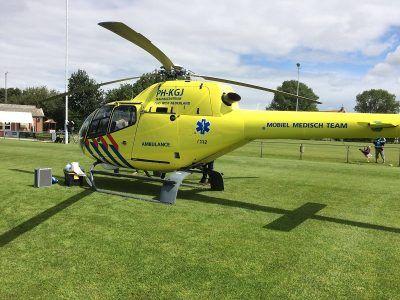Helikopter gewrapt