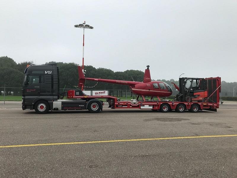 Helikopter vervoeren