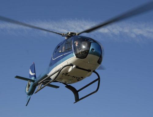 Nieuwe Eurocopter EC-120b in gebruik genomen